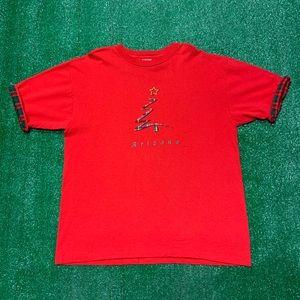 Vintage Arizona Christmas Tree Single Stitch Shirt